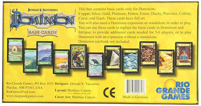 Card Games, Dominion: Base Cards