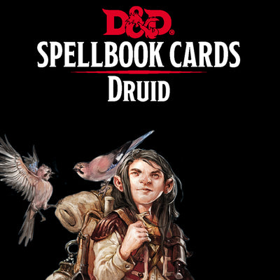 Role Playing Games, Spellbook Cards: Druid