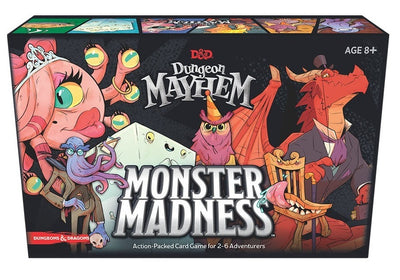 Card Games, Dungeon Mayhem: Monster Madness Expansion