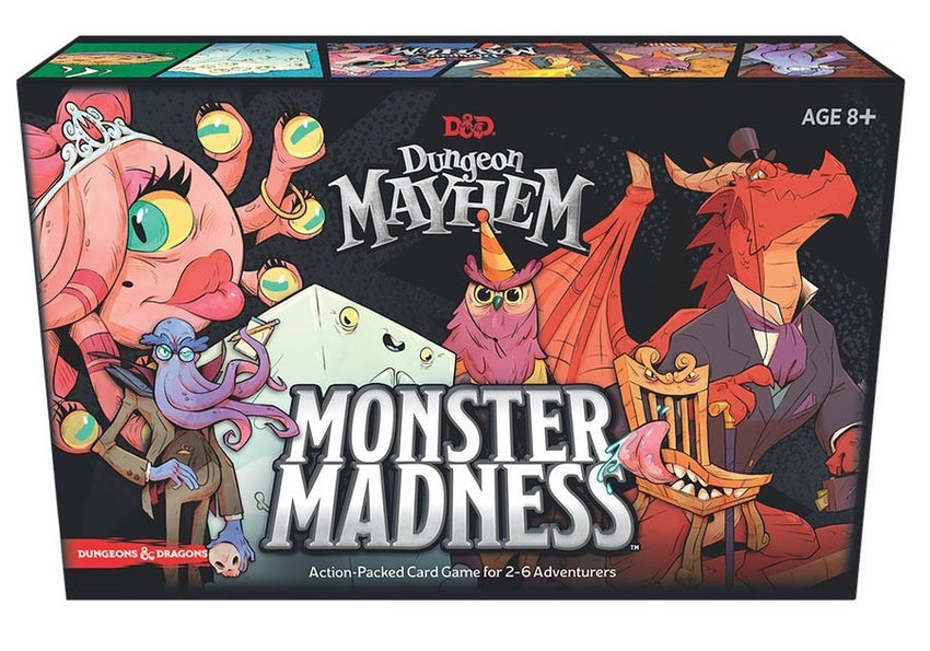 Dungeon Mayhem: Monster Madness Expansion