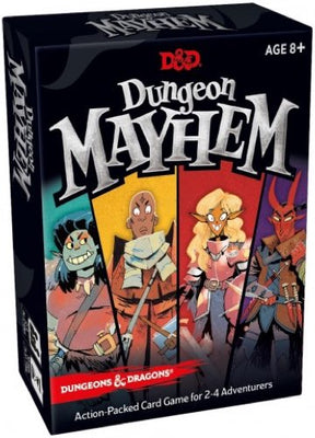 Card Games, D&D Dungeon Mayhem