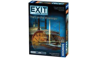 Board Games, EXIT: The Game - Theft on the Mississipi