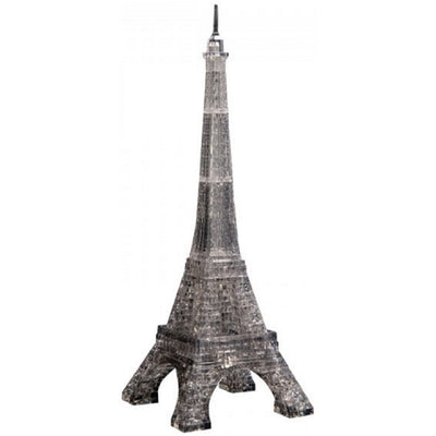 3D Jigsaw Puzzles, Eiffel Tower - Black
