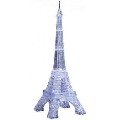 3D Jigsaw Puzzles, CLEAR EIFFEL TOWER CRYSTAL PZ