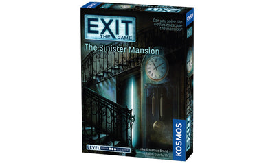 Board Games, EXIT: The Game - The Sinister Mansion