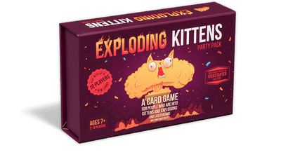 Card Games, Exploding Kittens Party Pack!