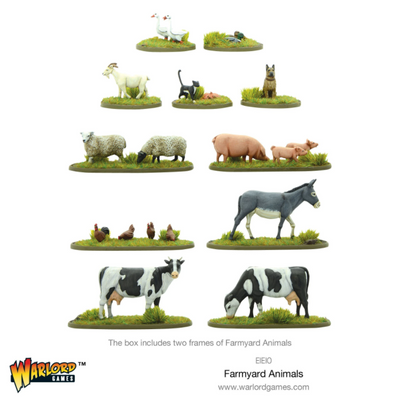 Miniatures, Farmyard Animals