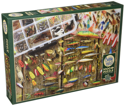 Jigsaw Puzzles, Fishing Lures - 1000pc