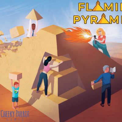 NZ Made & Created Games, Flaming Pyramids