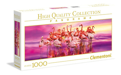 Jigsaw Puzzles, Flamingo Dance - 1000pc