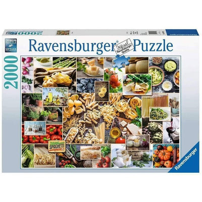 Jigsaw Puzzles, Food Collage - 2000pc