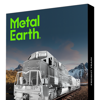 3D Jigsaw Puzzles, Metal Earth: Freight Train & 4 Carriages Gift Box
