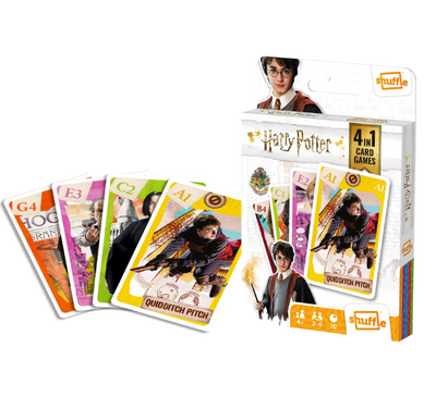Kids Games, Shuffle 4 in 1: Harry Potter