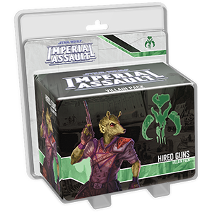 Miniatures, Star Wars Imperial Assault: Hired Guns Villain Pack
