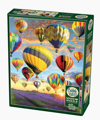 Jigsaw Puzzles, Hot Air Balloons - 1000pc