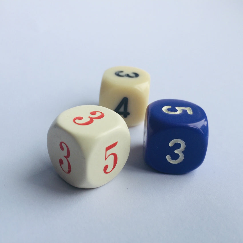CHESSEX AVERAGE DICE