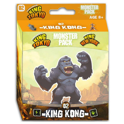 Board Games, King of Tokyo/New York: King Kong Monster Pack