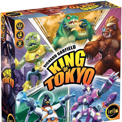 Dice Games, King of Tokyo
