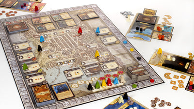 Board Games, D&D Lords of Waterdeep Board Game