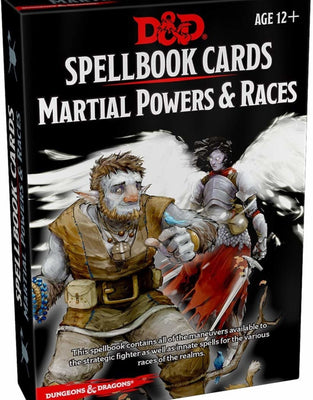 Role Playing Games, Spellbook Cards: Martial Powers & Races