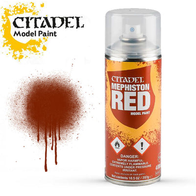 Hobby Paint, Spray: Mephiston Red