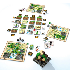 Minecraft: Builders & Biomes Board Game