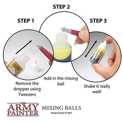 Hobby Supplies, Mixing Balls