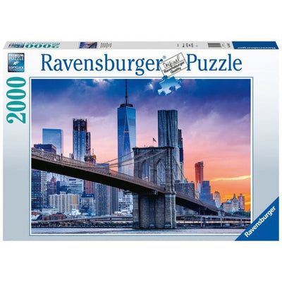 Jigsaw Puzzles, New York Skyline - 2000pc