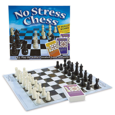 Traditional Games, No Stress Chess