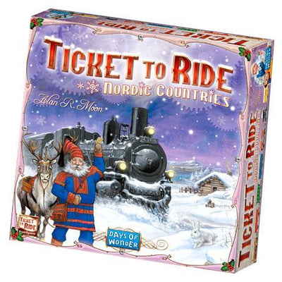 Board Games, Ticket to Ride: Nordic Countries Edition