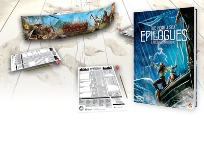 Role Playing Games, North Sea Epilogues + Game Master's Screen