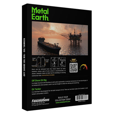 3D Jigsaw Puzzles, ICONIX OFF SHORE OIL RIG
