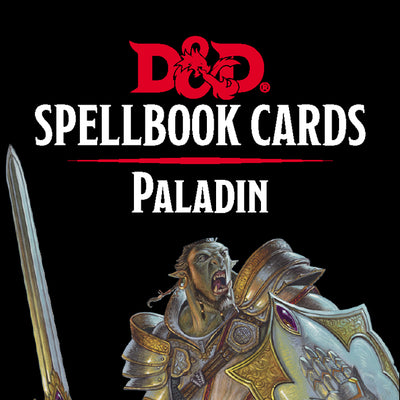 Role Playing Games, Spellbook Cards: Paladin