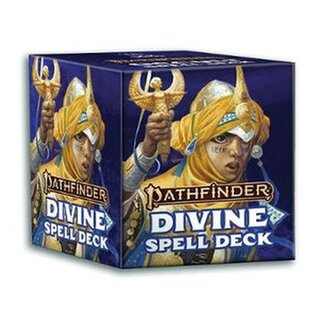 Role Playing Games, Pathfinder: Divine Spell Cards