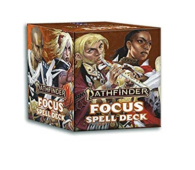 Role Playing Games, Pathfinder: Focus Spell Cards