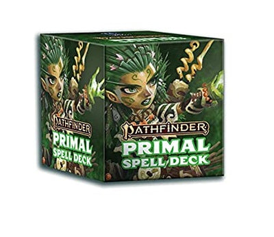Role Playing Games, Pathfinder: Primal Spell Cards
