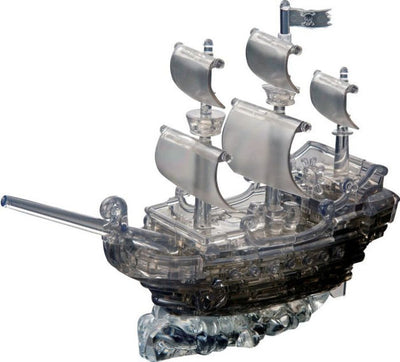 3D Jigsaw Puzzles, CRYSTALPUZZLEBLACK PIRATE SHIP