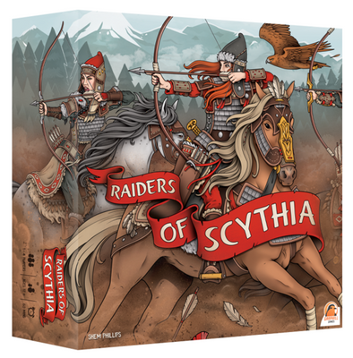 Board Games, Raiders of Scythia - Deluxe Edition
