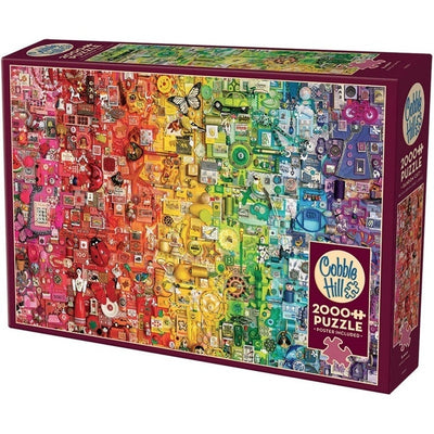 Jigsaw Puzzles, Rainbow Puzzle - 2000pc