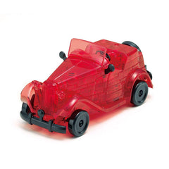 RED CLASSIC CAR CRYSTAL PUZZLE