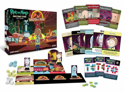 Board Games, Rick & Morty Anatomy Pack