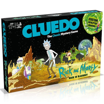 Board Games, Cluedo: Rick & Morty Edition