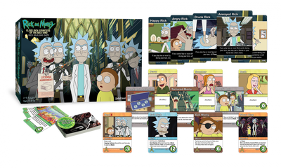 Card Games, Rick & Morty: Close Rick-Counters of the Rick Kind