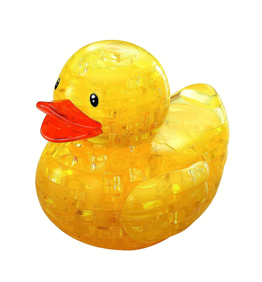 YELLOW DUCK CRYSTAL PUZZLE