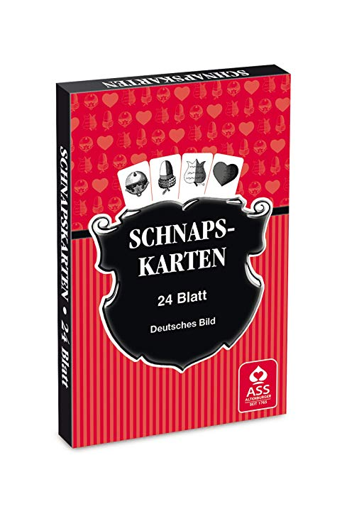 Schnaps German Build Playing Cards