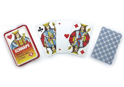 Card Games, Schnaps French Build Playing Cards