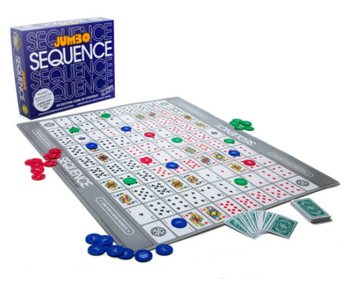 IQ Puzzles, Sequence JUMBO!
