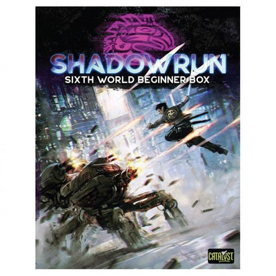 Role Playing Games, Shadowrun Sixth World Beginner Box