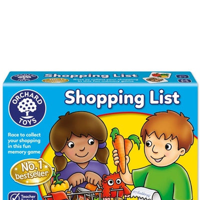 Kids Games, Shopping List Game