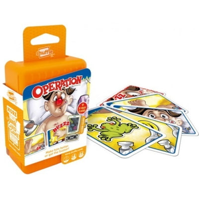 Card Games, Shuffle: Operation